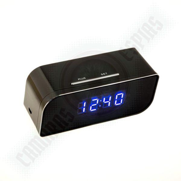 7ddf9e9bdb3a Comprar despertador con micro cámara espía oculta  Precio y descuentos