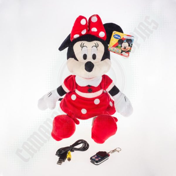 peluche espía minnie mouse